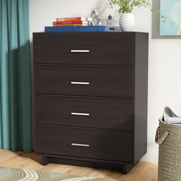 Chicopee Modern 4 Drawer Chest by Zipcode Design
