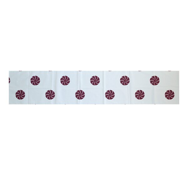 Decorative Holiday Geometric Print Table Runner by The Holiday Aisle