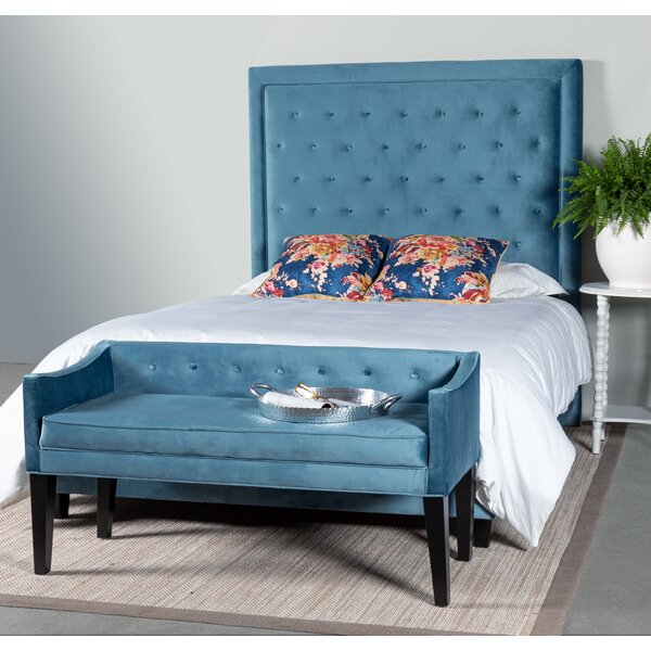 Yorkshire Upholstered Standard Bed by Greyleigh