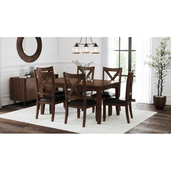 Pettry 7 Piece Dining Set by Alcott Hill