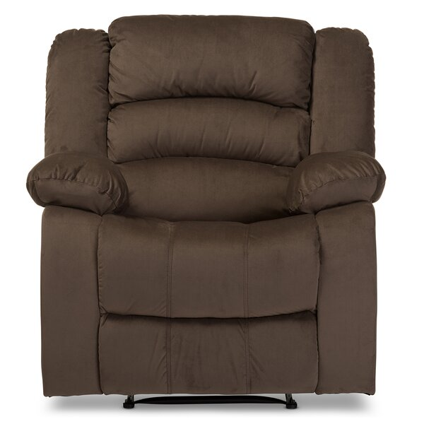 Baxton Studio Manual Recliner by Wholesale Interiors