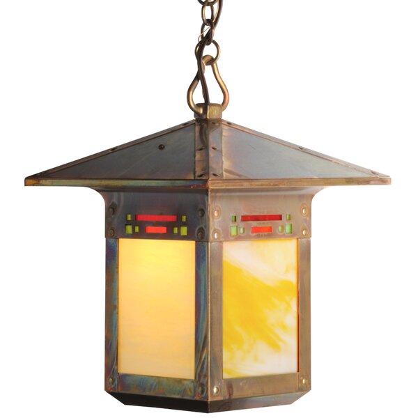 Pullman 1-Light Lantern Pendant by World Menagerie