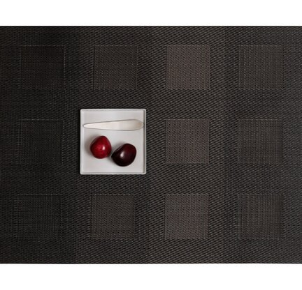 Engineered Squares Rectangle Placemat by Chilewich