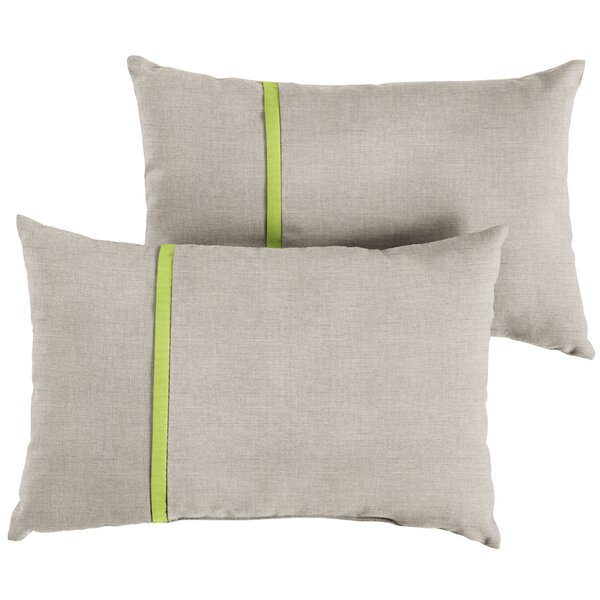 Chumley Indoor/Outdoor Lumbar Pillow (Set of 2) by Corrigan Studio