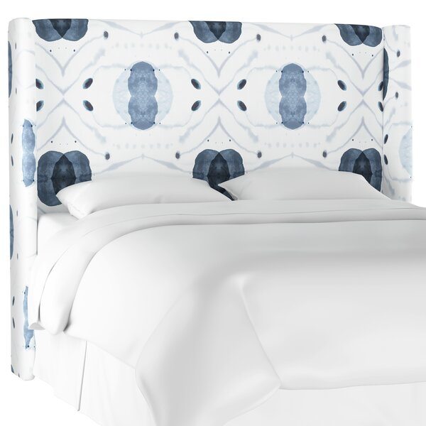 Draeger Upholstered Wingback Headboard by Bungalow Rose