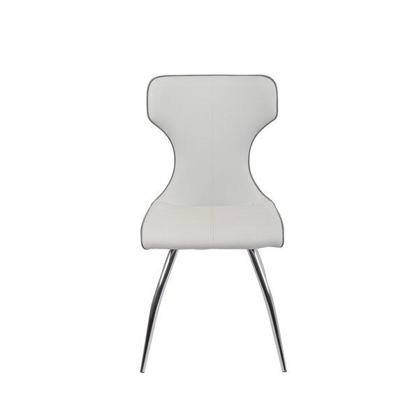 Moriaty Upholstered Dining Chair (Set of 4) by Orren Ellis Orren Ellis