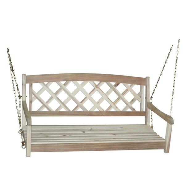 Ridgeland X-Back Porch Swing by Beachcrest Home