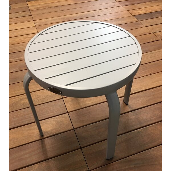 Aluminum Side Table by Feruci