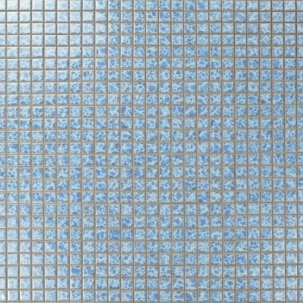 Waterfall 0.91 x 0.91 Porcelain Mosaic Tile in Alboran by EliteTile