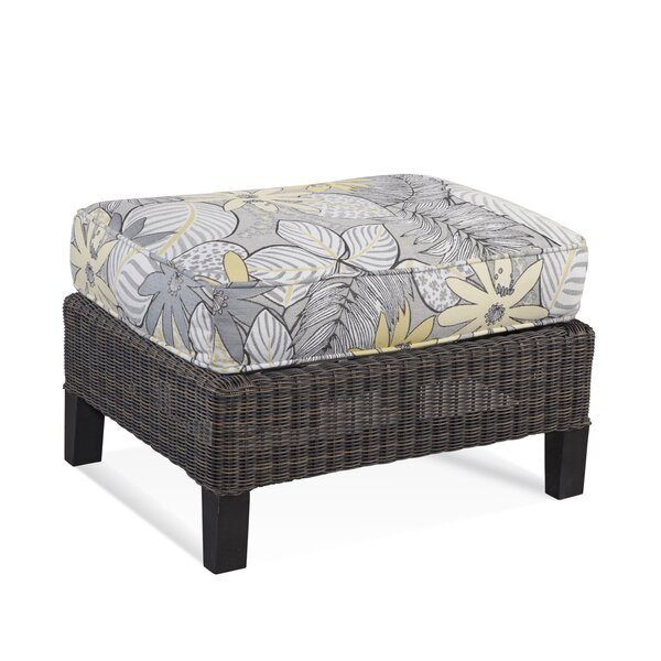 Tangier Ottoman with Cushion by Braxton Culler