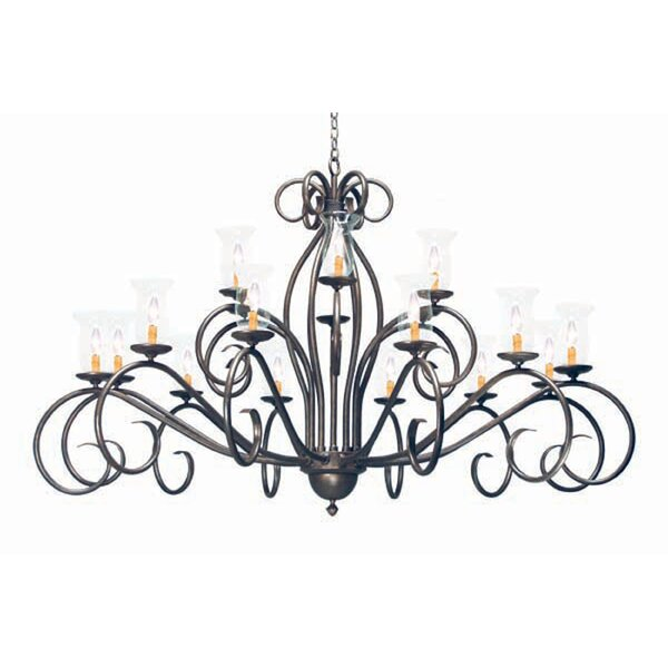 Sienna 18-Light Shaded Tiered Chandelier by 2nd Ave Design 2nd Ave Design