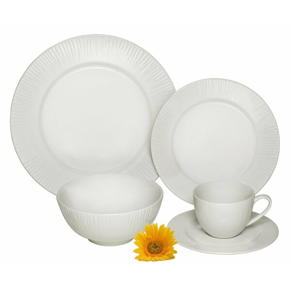 Cascades Premium 40 Piece Dinnerware Set, Service for 8 by Melange