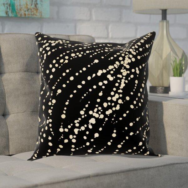 Aiello My Stars Velvet Throw Pillow by Mercury Row