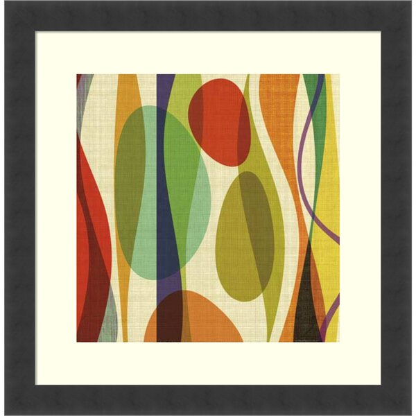 Positive Energy Sq 1 Framed Graphic Art by Langley Street