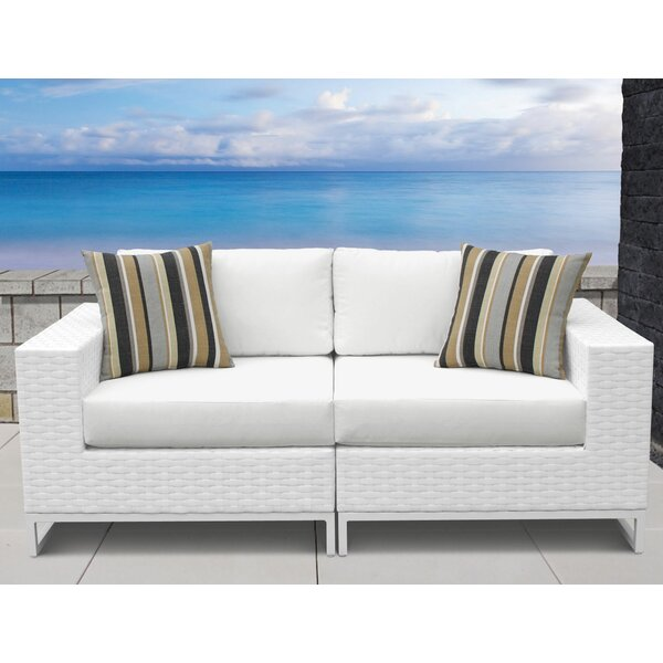 Miami Loveseat with Cushions by TK Classics