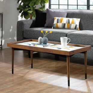 Bargain Gamma Coffee Table with Tray Top by Ivy Bronx