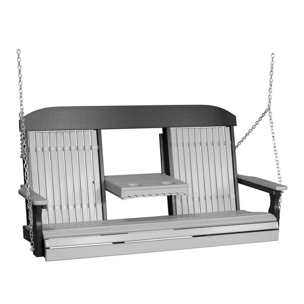 Ismaeil Classic Porch Swing by Ebern Designs Ebern Designs