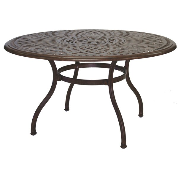 Fairmont Weather Resistant Dining Table by Astoria Grand