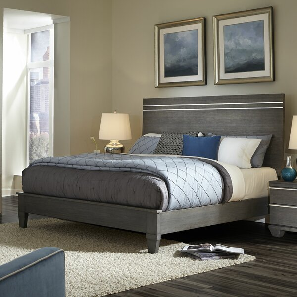 New Design Azalea Standard Bed By Wildon Home® Coupon