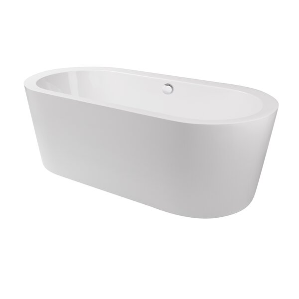Harrow 59 x 21.5 Freestanding Soaking Bathtub by Maykke
