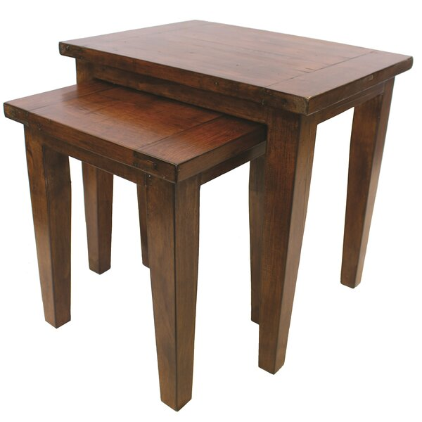 Yorba Linda 2 Piece Nesting Tables by Loon Peak