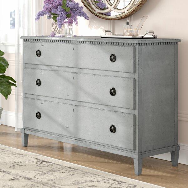Mikah 3 Drawer Dresser by One Allium Way