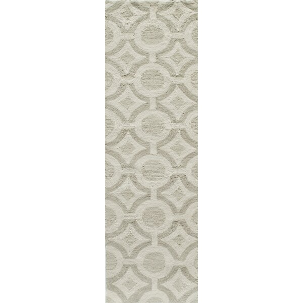 Agnese Hand-Hooked Ivory Area Rug by Willa Arlo Interiors