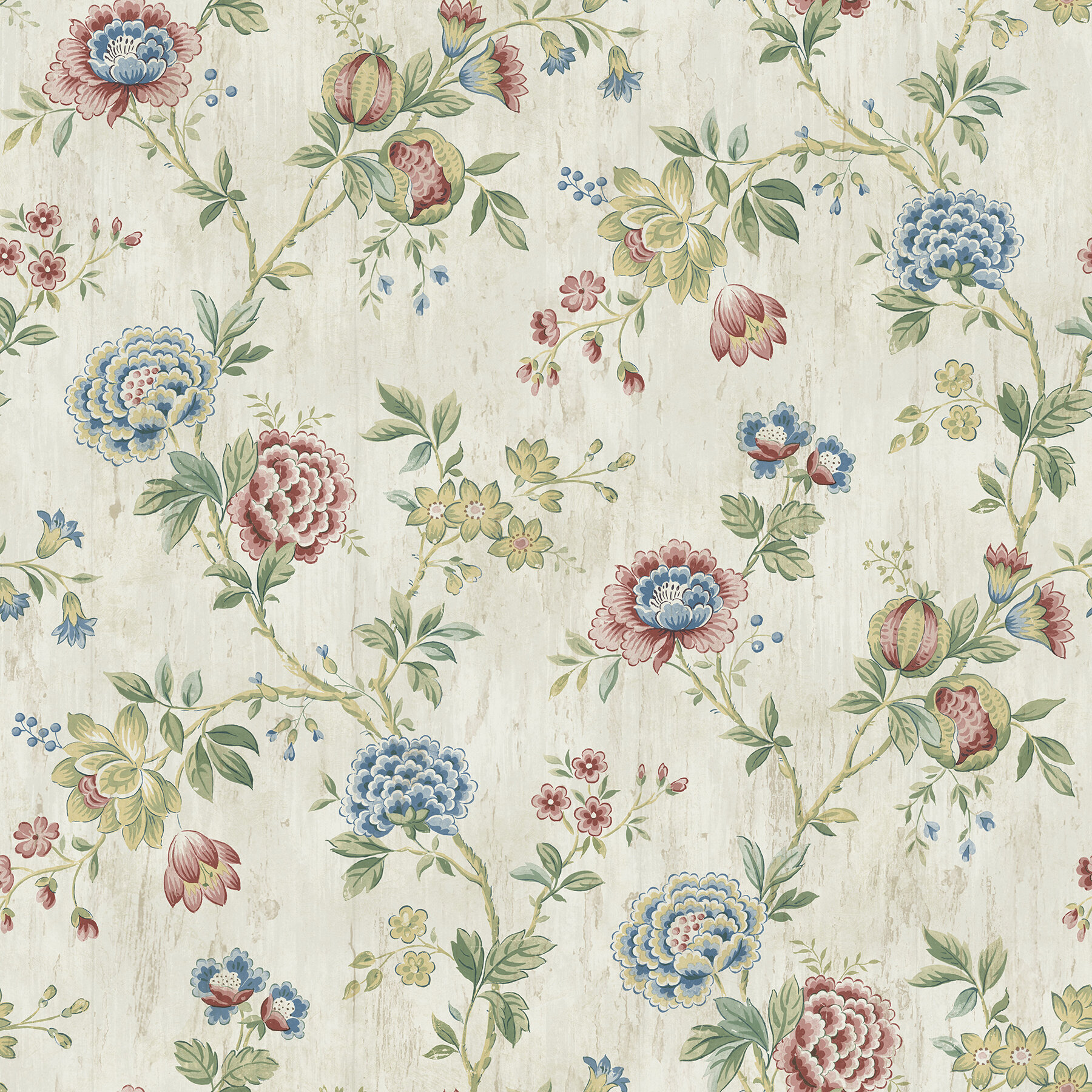 Brewster Home Fashions The Cottage Chrysanthemum 33 X 20 5