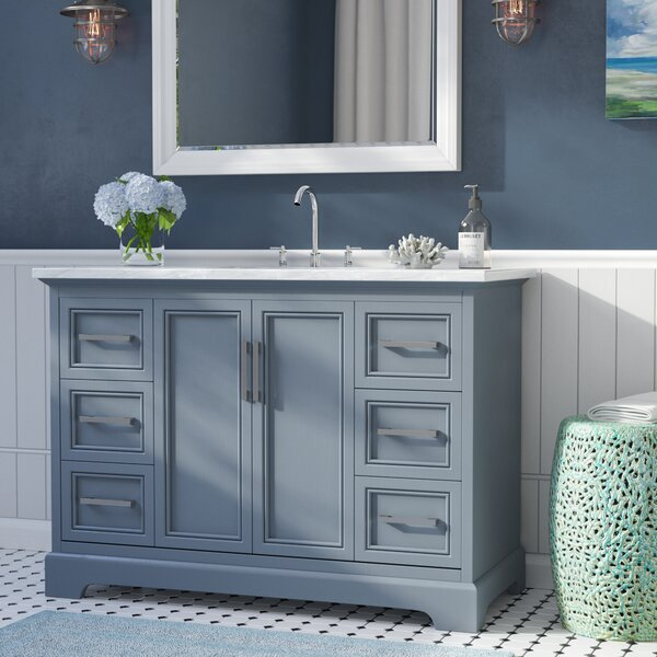 Ravenworth 48 Single Bathroom Vanity Set by Beachcrest Home