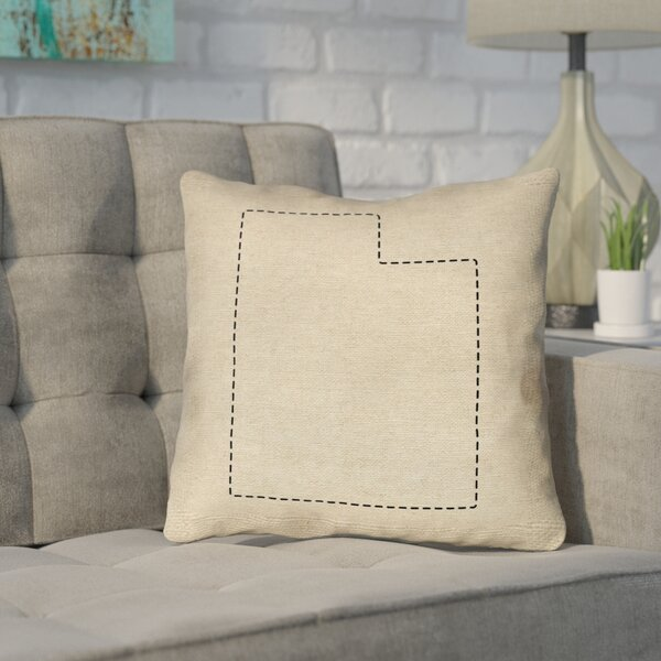 Sherilyn Utah Outdoor Throw Pillow by Ivy Bronx