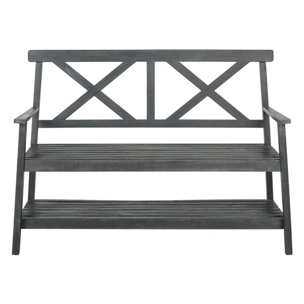 Latulipe Wood Garden Bench by Lark Manor