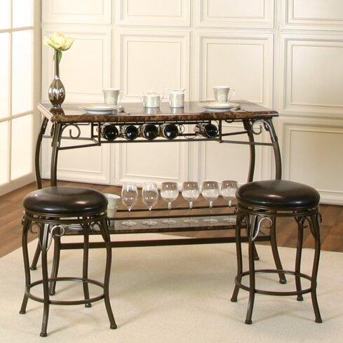 Schaub Bar Set by Fleur De Lis Living Fleur De Lis Living