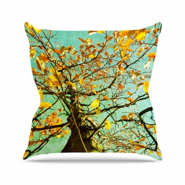 Sylvia Coomes Autumn Tree Outdoor Throw Pillow by East Urban Home