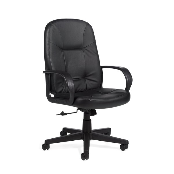 Arno Leather Executive Chair by Global Total Office