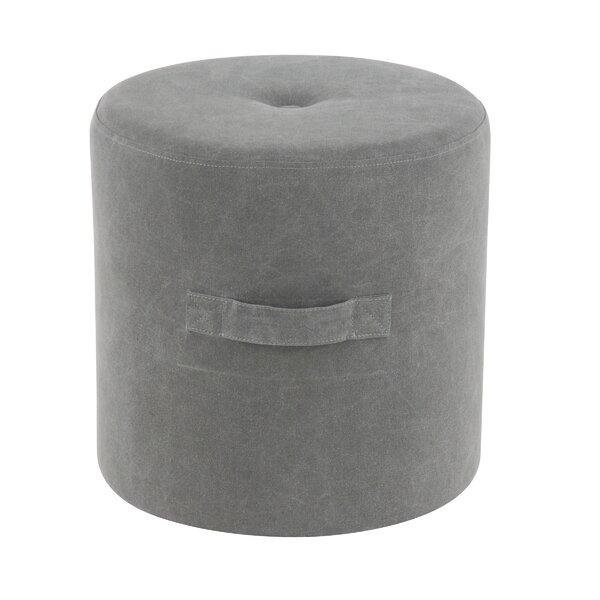 Henshaw Contemporary Round Tufted Pouf By Ebern Designs Best Design