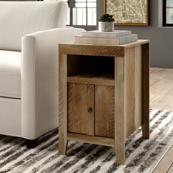 Riddleville End Table With Storage By Greyleigh