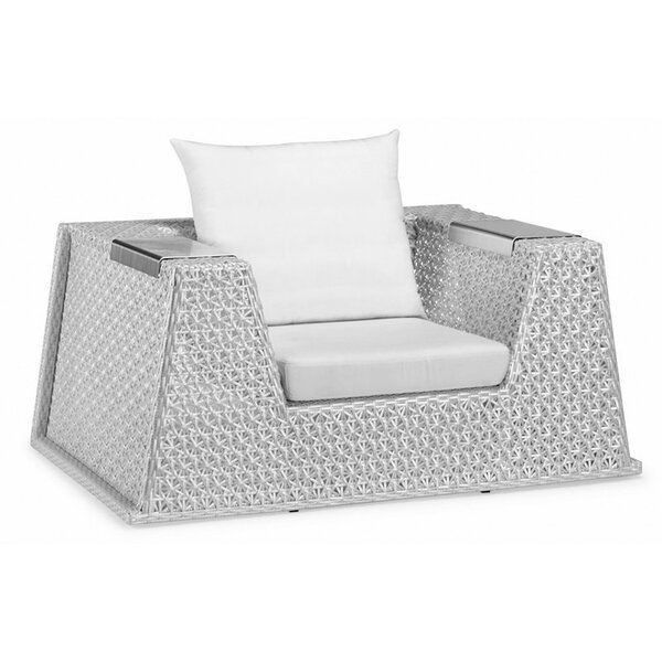 Palace Arm Chair with Cushions by 100 Essentials