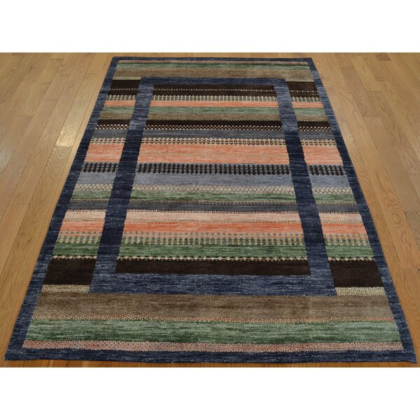 One-of-a-Kind Becker Art Lori Buft Handwoven Silk Area Rug by Isabelline
