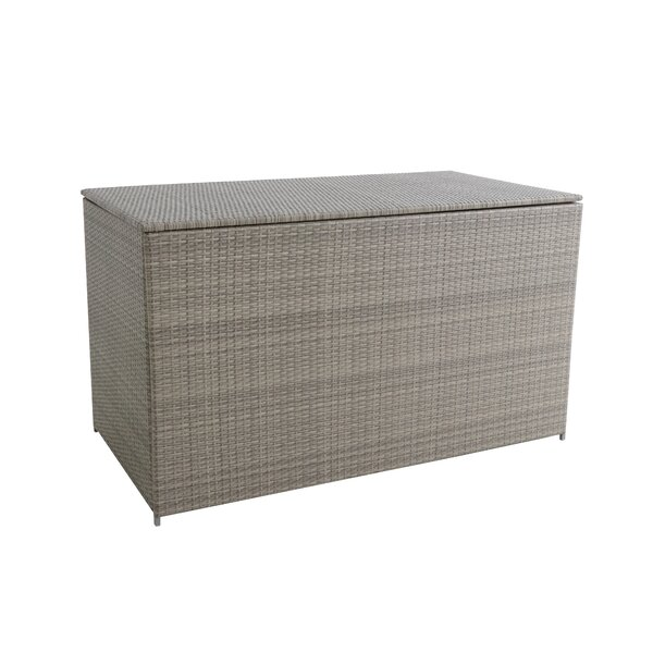 Webster 230 Gallon Wicker Deck Box by Royal Garden Royal Garden
