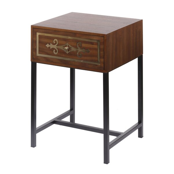 Mcgough Raj Chest End Table with Storage by Bloomsbury Market