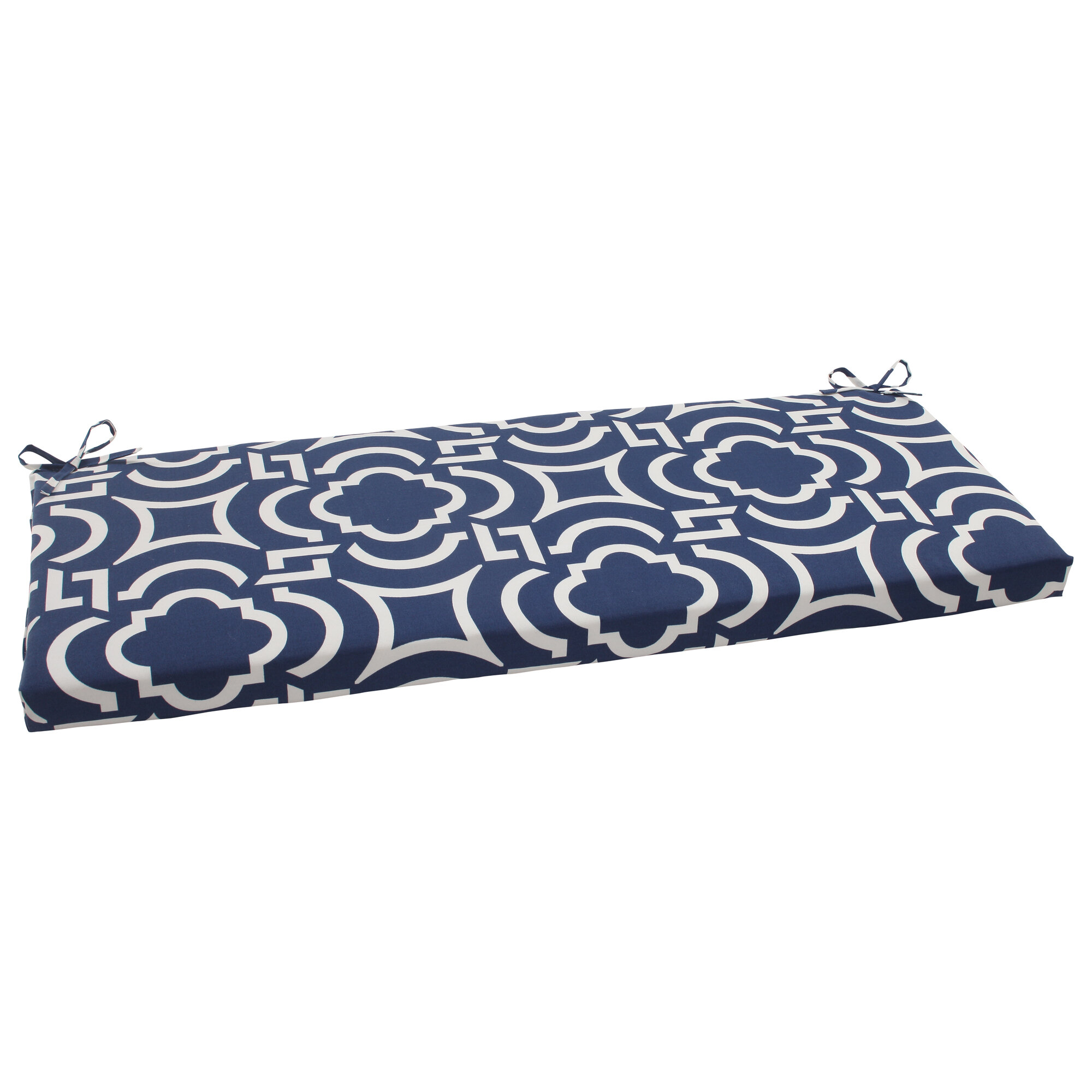 Geometric Indoor Outdoor Bench Cushion