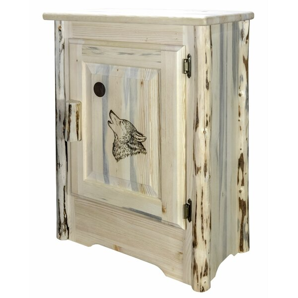 Shrader 1 Door Accent Cabinet by Millwood Pines