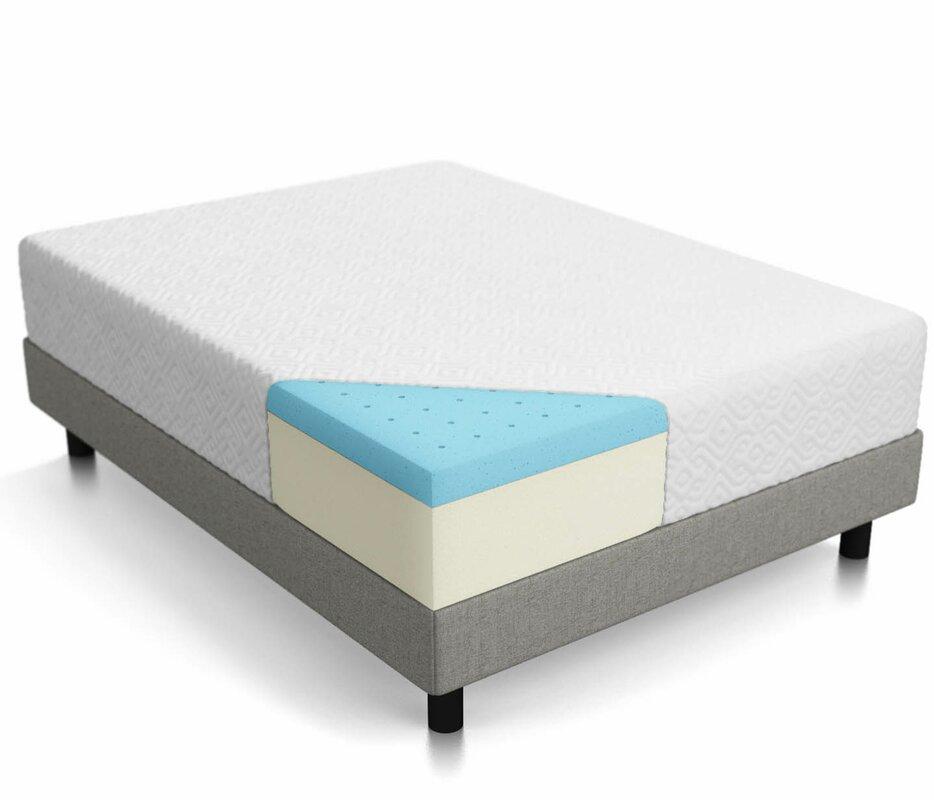 Lucid 12 Quot Medium Memory Foam Mattress Amp Reviews Wayfair