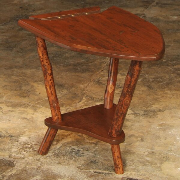 Dovetail Point End Table by Flat Rock Furniture