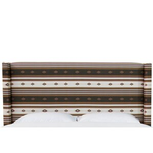 Nicolette Linen Upholstered Wingback Headboard by Union Rustic