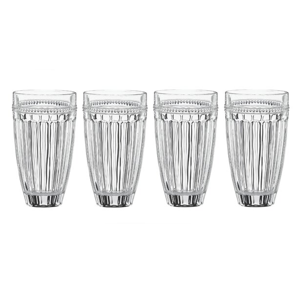 French Perle Crystal 16 oz. Highball Glass (Set of 4) by Lenox