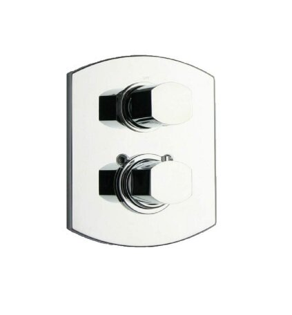 Novello Volume Thermostatic Valve by LaToscana