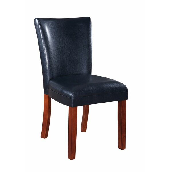 Wedge Parson Upholstered Dining Chair (Set of 2) by Red Barrel Studio