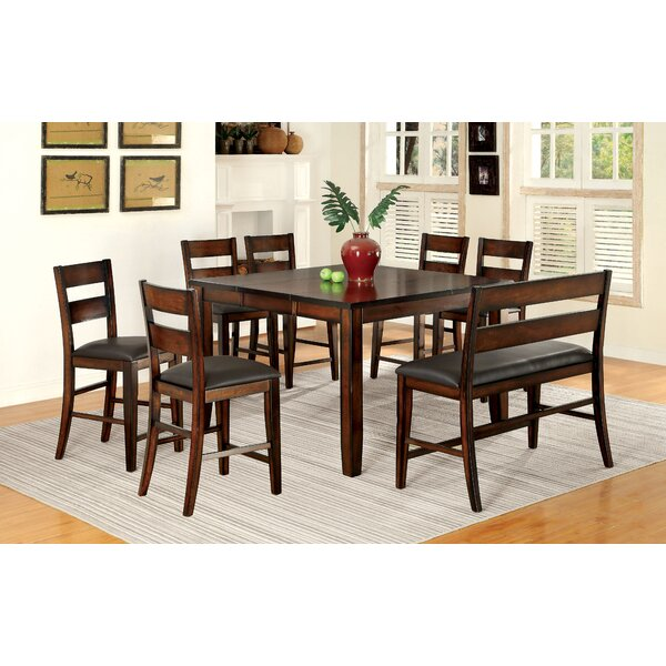 Maliana 8 Piece Pub Table Set by Latitude Run