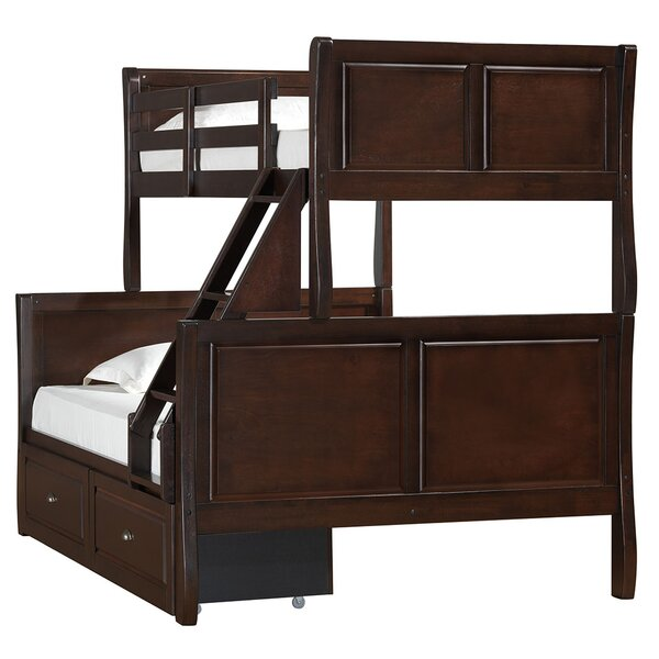 Chamblee Twin over Full Bunk Bed by Simmons Casegoods by Harriet Bee